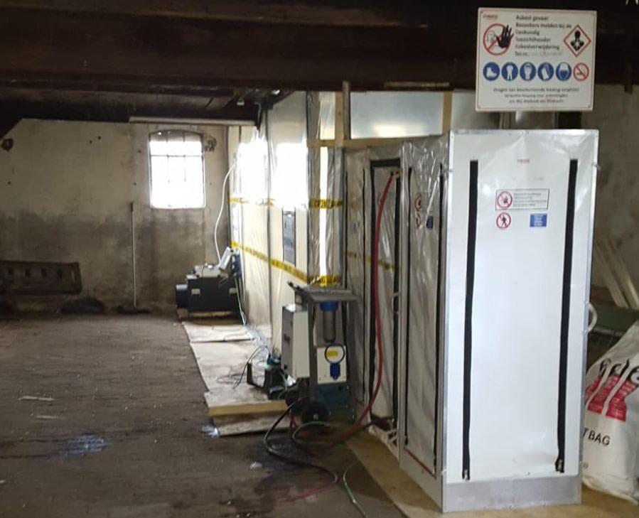 Kosten verwijderen asbest