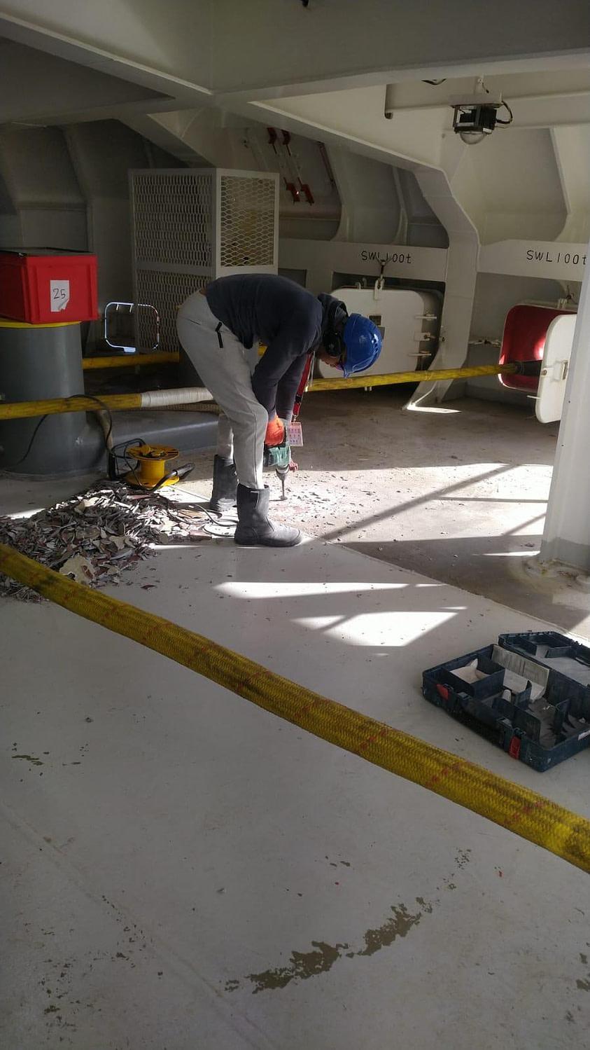 slopen conform pbm vloer verwijderen