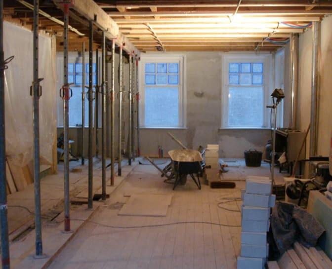 Balken plaatsen na constructieberekening