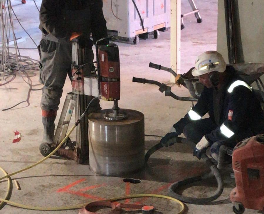 Betonvloer aan het slopen - Sloop Concurrent